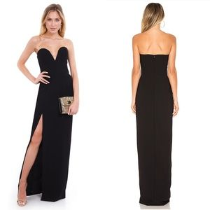 Amanda Uprichard Dresses - Amanda Uprichard Cherri Gown in Black